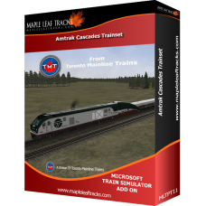 Amtrak Cascades Train Set