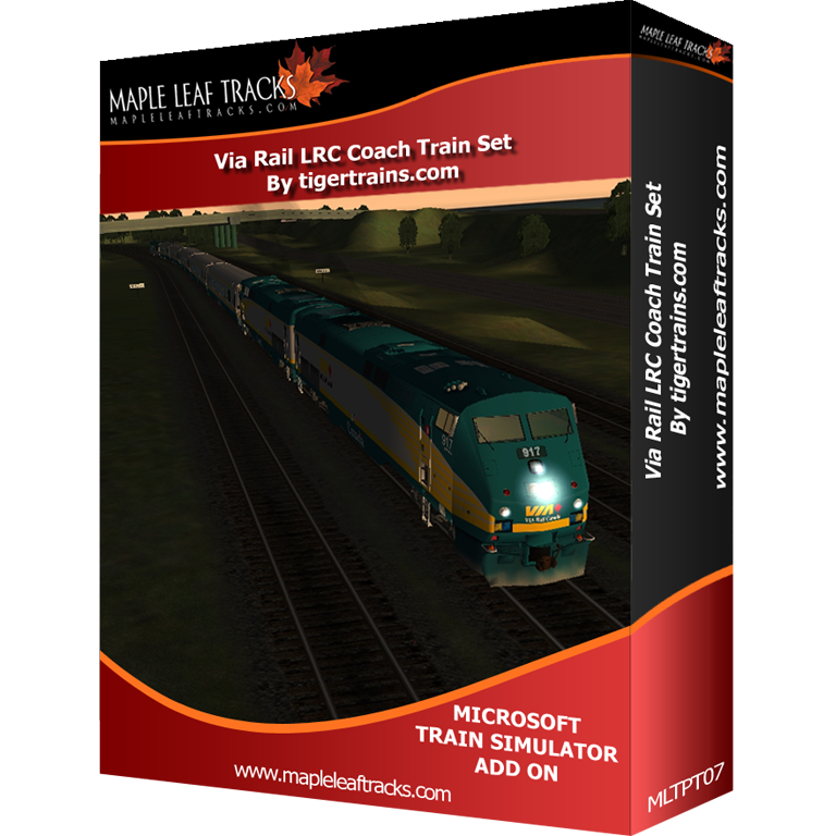 Via Rail LRC CoachTrainset