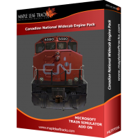 Canadian National Widecab Engine Pack